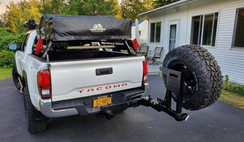 Rigid Armor Swing Out Tire Carrier full