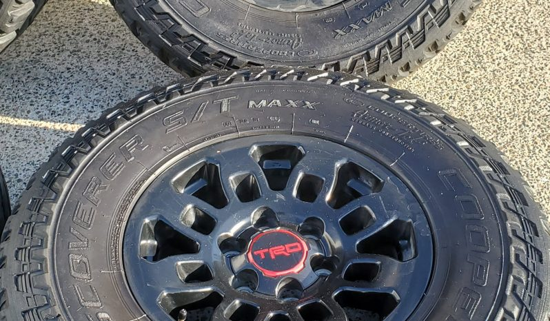 Trd Pro wheels and Cooper st max tires full