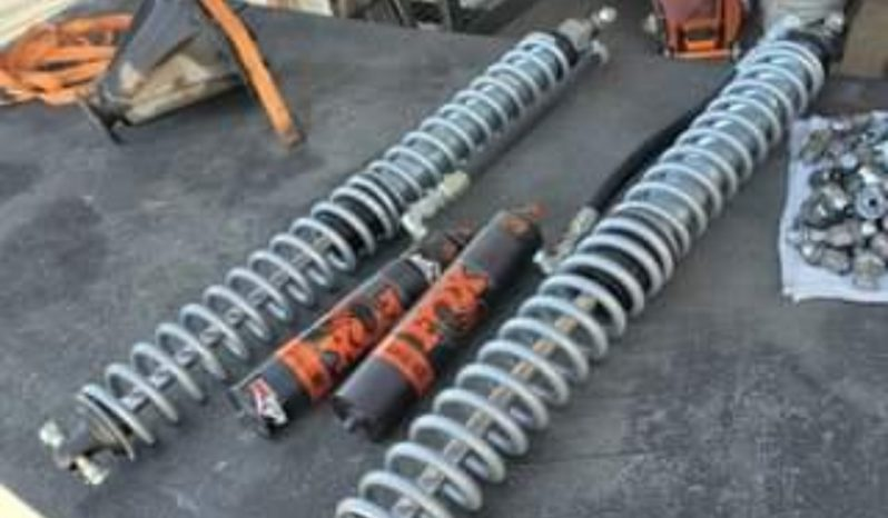 Fox 2.0 x14.0 coilovers, remote res, 7/8 shaft DSC with springs full
