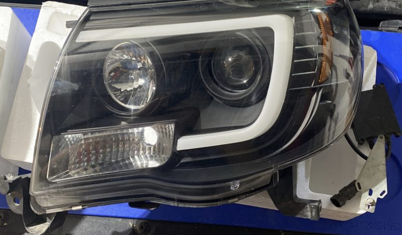 Tacomabeast headlights for 05-11 Tacoma with DRL full
