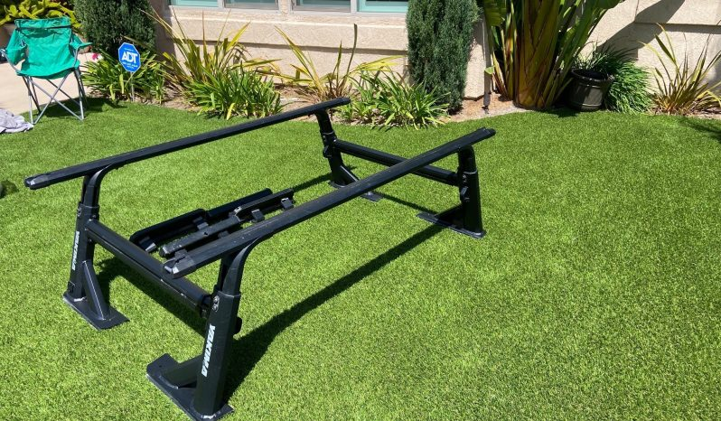 Yakima Overhaul HD rack with size large HD crossbars and sidebars (shorted) includes 4 rotopax mounting kits full