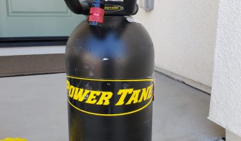 10 lb Power Tank Package B with Red knob full