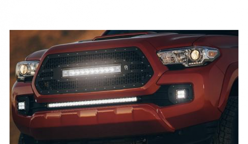 Rigid Industries Grille and Lightbar full