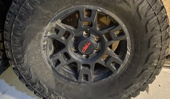 """5x Trd pro Rims and 35""""tires full"""