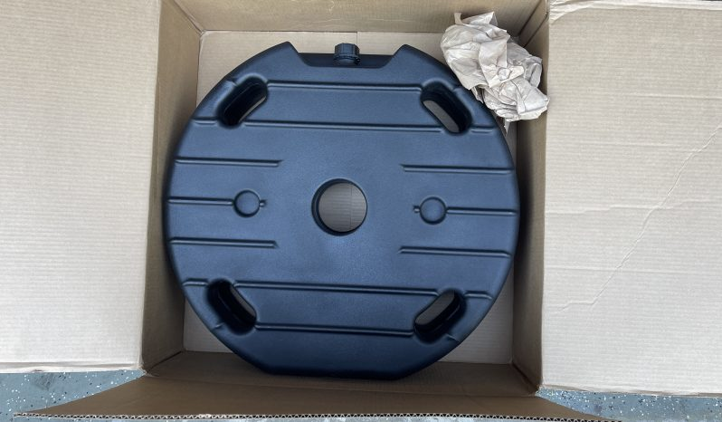 2/ 6 gallon spare tire water tanks by Trail'd off-road full
