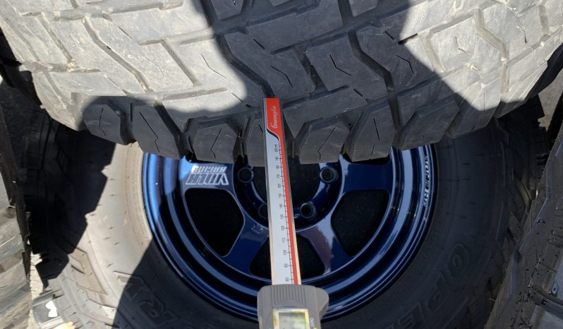 TE37X 16×8 +0 Rare Magblue with Toyo RT and OEM toyota TPMS full