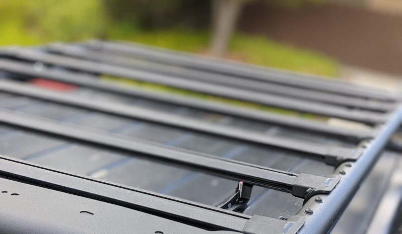 Go Rhino 72″ bolt on roof rack with awning brackets full