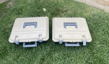 2 Decked drawer tool boxes full