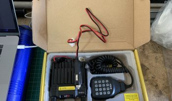 BTech UV25x4 25 watts GMRS, MURS, FRS Mobile Radio w/ NMO Magnetic Antenna full